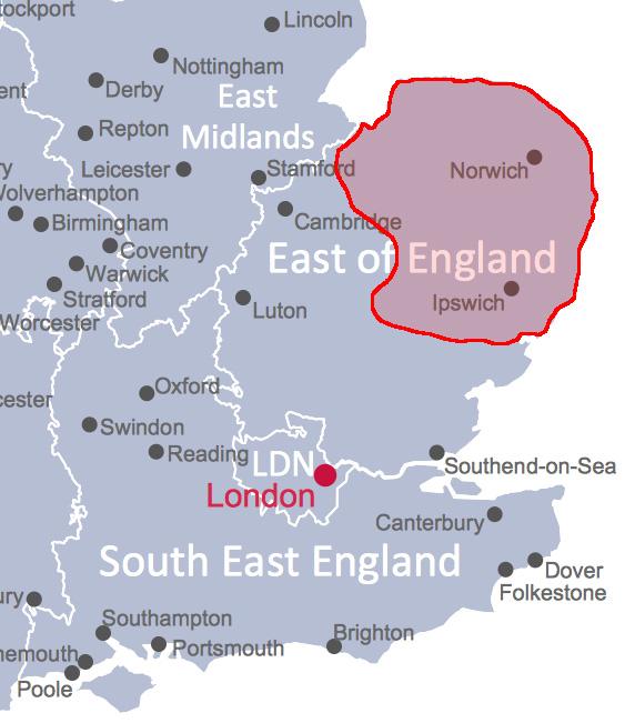 Norfolk, Suffolk, Norwich, Acle
